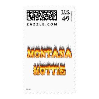 Fuego y llamas del hottie de Montana Sellos