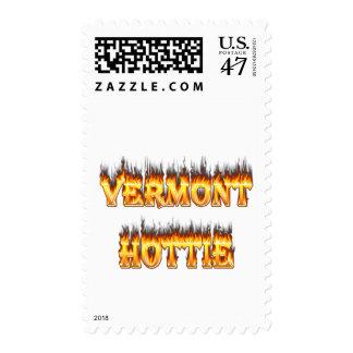 Fuego y llamas del hottie de Vermont Sellos