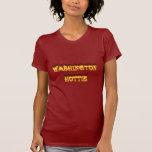 fuego y llamas del hottie de Washington Camiseta