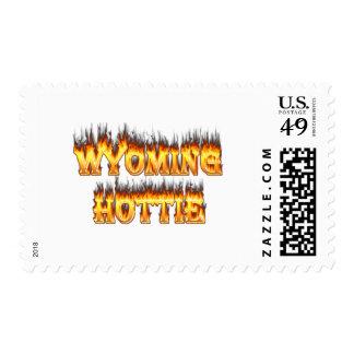 Fuego y llamas del hottie de Wyoming Sellos