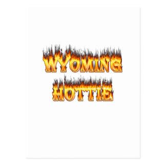Fuego y llamas del hottie de Wyoming Postal