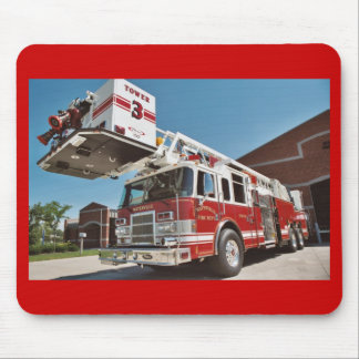 Fuego y rescate de Waterville Alfombrilla De Ratones