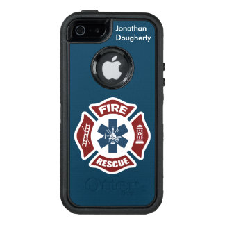 Fuego y rescate funda otterbox para iPhone 5/5s/SE