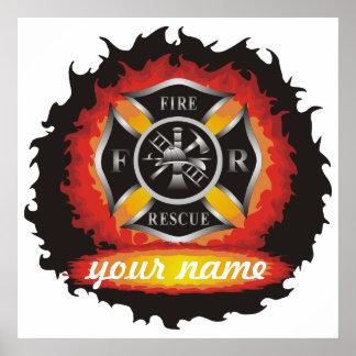 Fuego y rescate poster