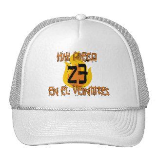 fuegoEnEl23 Gorras