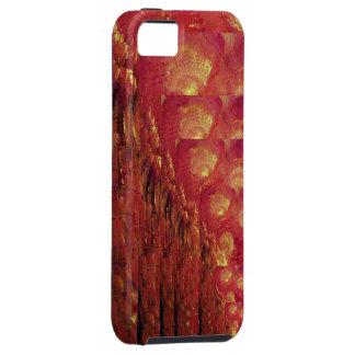 Fuegos abstractos funda para iPhone SE/5/5s