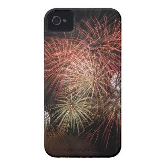 Fuegos artificiales 20 cajas de Blackberry iPhone 4 Case-Mate Protector