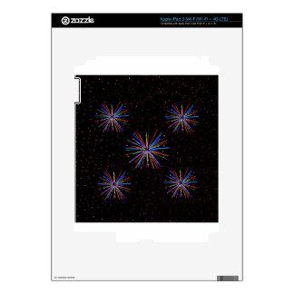 Fuegos artificiales 4tos del Año Nuevo de julio de Pegatinas Skins Para iPad 3