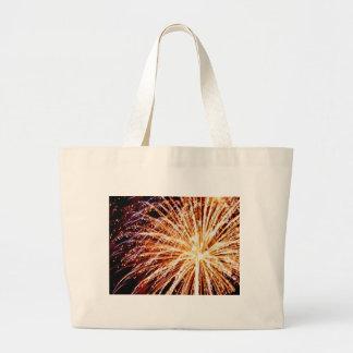 fuegos artificiales 7 bolsa tela grande