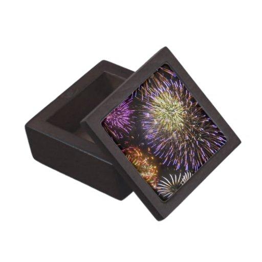 Fuegos artificiales (8) caja de recuerdo de calidad