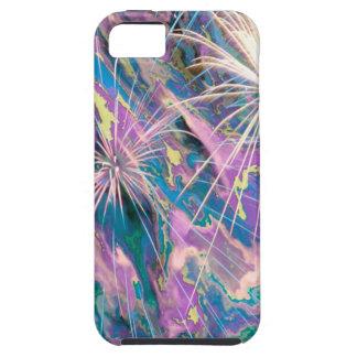 Fuegos artificiales abstractos iPhone 5 Case-Mate carcasas
