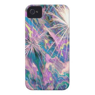 Fuegos artificiales abstractos iPhone 4 Case-Mate funda