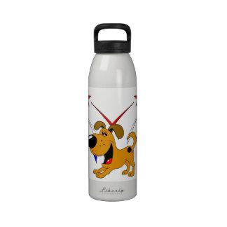 Fuegos artificiales botellas de beber