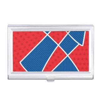 Fuegos artificiales americanos patrióticos caja de tarjetas de negocios