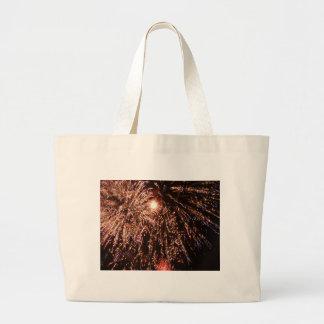 fuegos artificiales bolsa tela grande