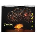 fuegos artificiales calendarios