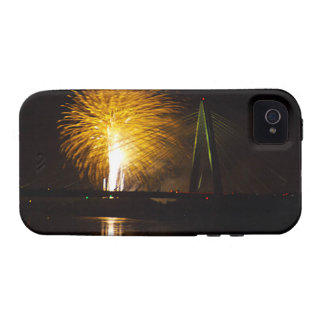Fuegos artificiales Christopher S. Bond Bridge iPhone 4/4S Fundas