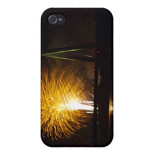Fuegos artificiales Christopher S. Bond Bridge Kan iPhone 4/4S Carcasas