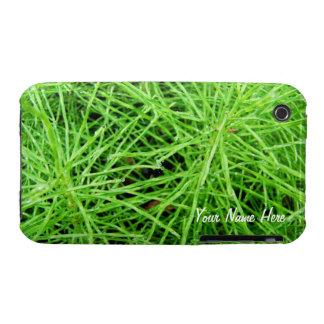 Fuegos artificiales de la hierba verde; iPhone 3 Case-Mate carcasas