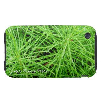 Fuegos artificiales de la hierba verde; iPhone 3 tough cárcasas