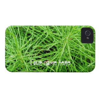 Fuegos artificiales de la hierba verde; iPhone 4 Case-Mate carcasa