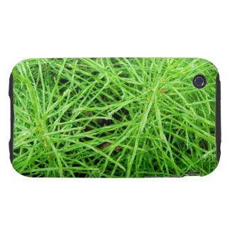 Fuegos artificiales de la hierba verde; Ningún iPhone 3 Tough Carcasas