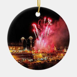 Fuegos artificiales de la plaza de Kansas City or Adornos De Navidad
