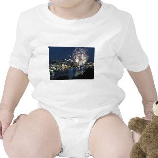 Fuegos artificiales de Pittsburgh Traje De Bebé