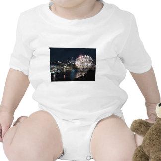 Fuegos artificiales de Pittsburgh Trajes De Bebé