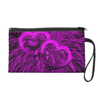 fuegos artificiales del amor púrpuras