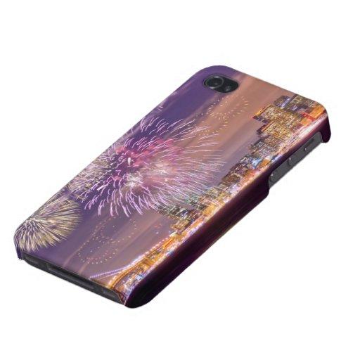 Fuegos artificiales del Año Nuevo de San Francisco iPhone 4 Protector