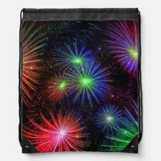 Fuegos artificiales del deslumbramiento mochila