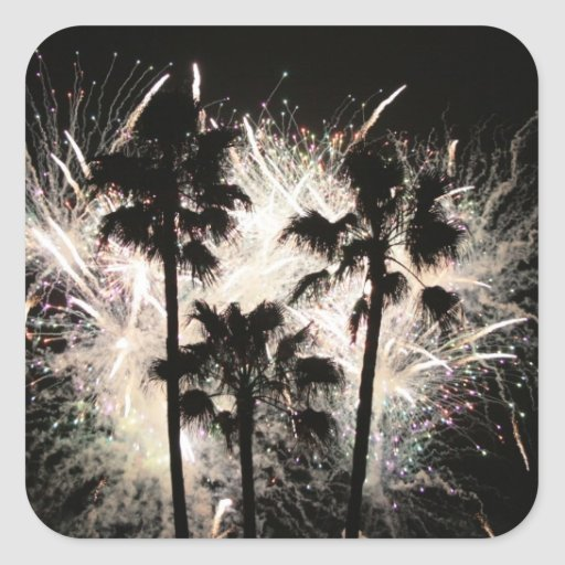 fuegos artificiales en la palma trees.jpg colcomanias cuadradass