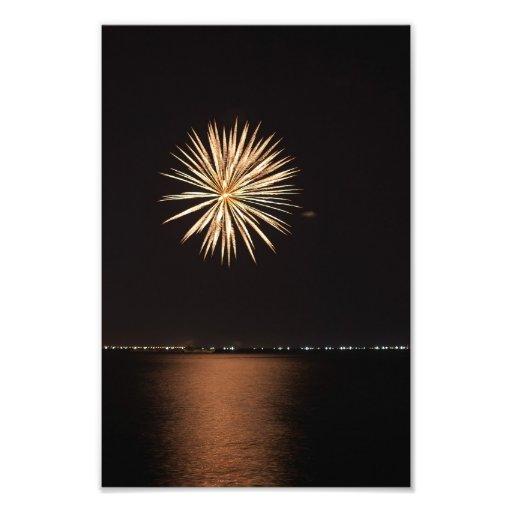 fuegos artificiales fotografía