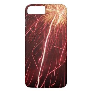 Fuegos artificiales funda iPhone 7 plus