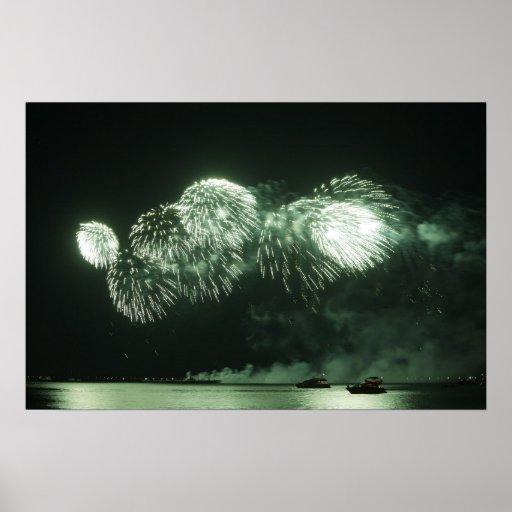 fuegos artificiales impresiones