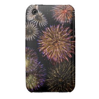 Fuegos artificiales iPhone 3 carcasas