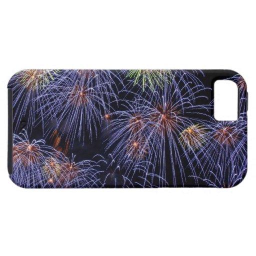 Fuegos artificiales iPhone 5 Case-Mate carcasas