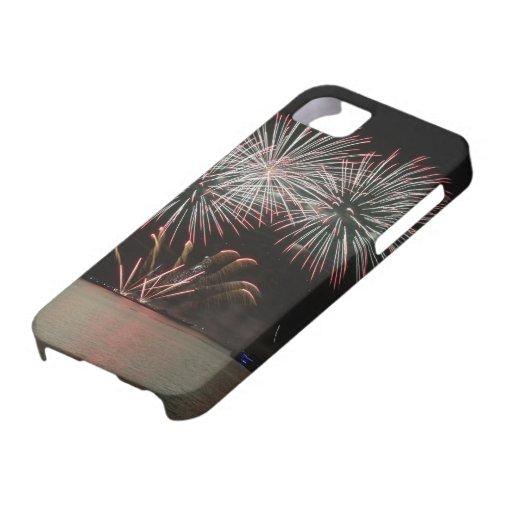 fuegos artificiales iPhone 5 Case-Mate funda