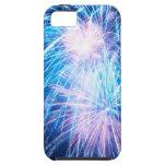 fuegos artificiales iPhone 5 protectores
