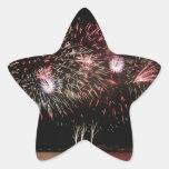 fuegos artificiales colcomanias forma de estrellaes personalizadas