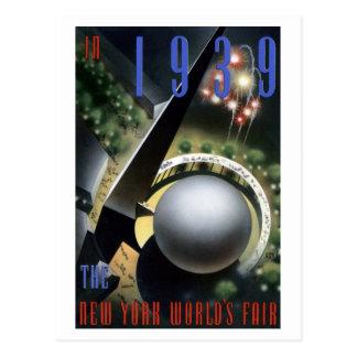 """""""Fuegos artificiales"""" - postal de la feria de 1939"""