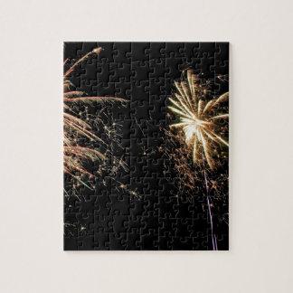 fuegos artificiales puzzles con fotos