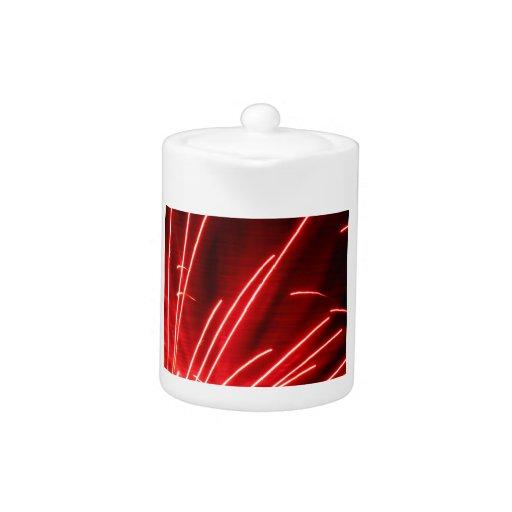 fuegos artificiales rojos