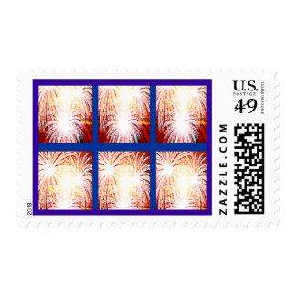 fuegos artificiales sellos