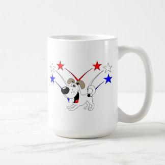 Fuegos artificiales tazas de café
