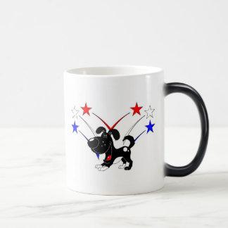 Fuegos artificiales taza de café