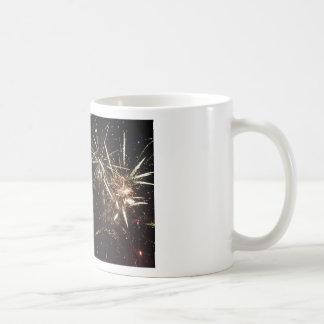 Fuegos artificiales taza