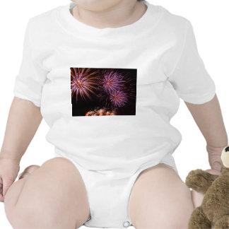 Fuegos artificiales trajes de bebé