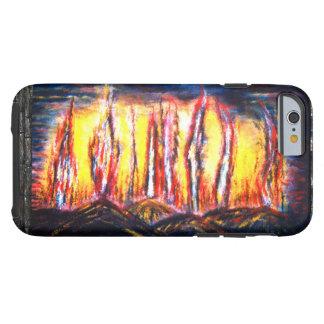 Fuegos de la furia funda para iPhone 6 tough